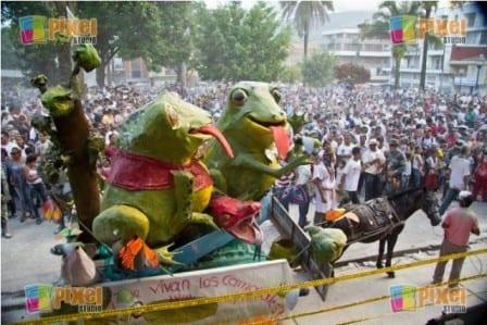 ranas del carnaval