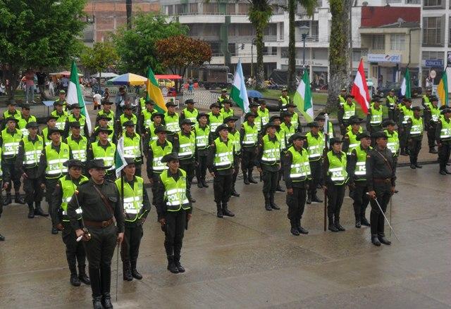 200 patrulleros reforzar n la seguridad en el putumayo - Oficina del policia ...
