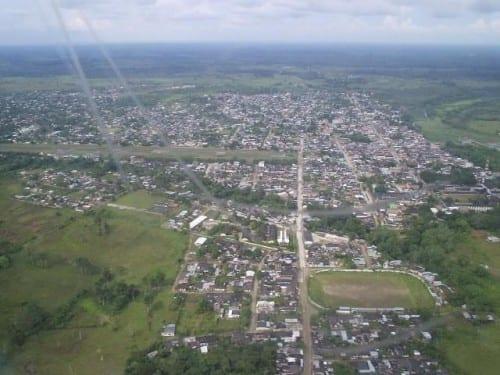 Vista aérea de Puerto Asis - Archivo : MiPutumayo.com.co