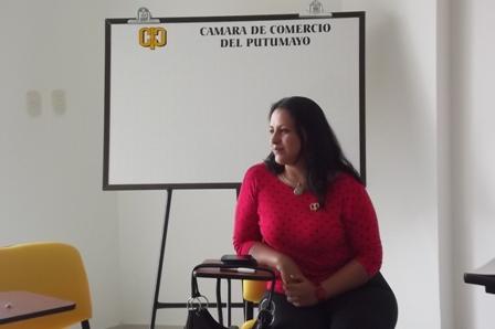 Deccy Ibarra - Presidenta Ejecutiva de la Cámara de Comercio del Putumayo