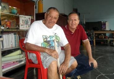 Helmut José Wienand Rivera y Guido Revelo