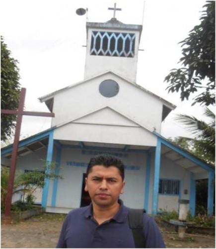 Sacerdote Wilson Cabrera administrador la parroquia virgen de la Merced
