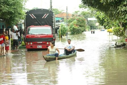 Inundaciones 2012 - Foto : Archivo.