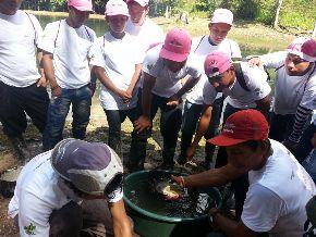 Las piscigranjas se refuerzan en la frontera de Perú y Colombia.