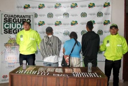 captura por trafico de drogas pto Asis