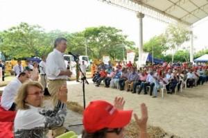 El Presidente de la República en Sabanalarga.