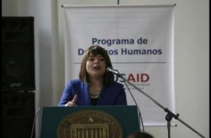 Ivonne Moreno, subdirectora de la Unidad de Restitución de Víctimas //