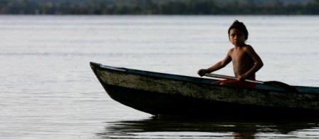 El camu camu es recogido en zonas inundables del río Putumayo. FOTO INSTITUTO SINCHI