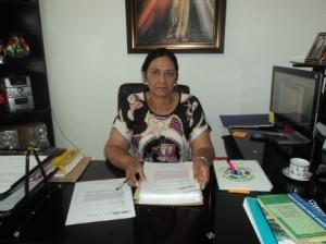 Luz Marina Hurtado Perdomo, Gerente de la Empresa de Servicios Públicos de Puerto Leguízamo E.S.P (Empuleg)