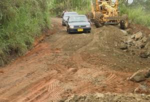 La obra de infraestructura mejoraría la conexión entre los 2 departamentos. Foto: Gobernación del Cauca.