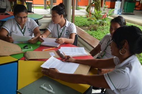 La institución Educativa ha logrado mejorar su nivel en las pruebas SABER, debido a la dedicación de los estudiantes que hacen parte del proceso de articulación con el SENA.