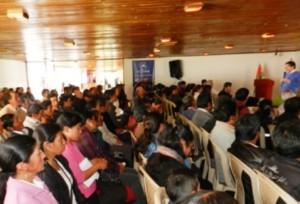 Ganaderos de San Miguel y varios municipios limítrofes participaron en la actividad organizada por Fedegán y la FAO. Foto: Álvaro Arturo Chaves / Fedegán.