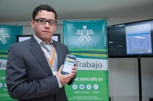 Carlos Avendaño, gestor de Tecnoparque en Ocaña (Norte de Santander) fue el desarrollador del aplicativo.