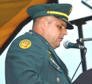 Coronel Oscar Rey - nuevo comandante de la Brigada de Selva 27