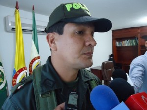 Coronel Ricardo Suarez. Comandante DEPUY