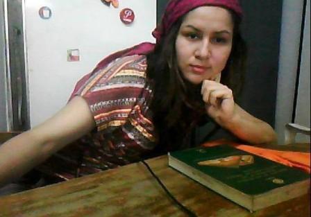 Alba Jenny Nupán Carvajal. Estudiante de la Universidad Nacional.