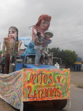 Carrozas - Puesto 3 : MITOS Y LEYENDAS