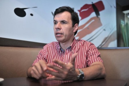 Guillermo Rivera, número 7 en la lista liberal al Senado. / David Campuzano