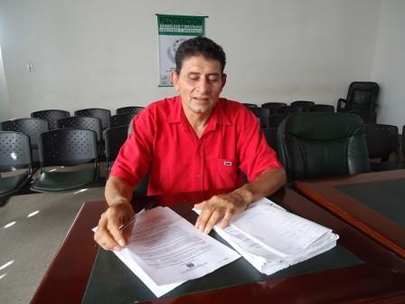 Diputado, Euler Guerrero, quien presentó la denuncia ante la Corte Suprema.