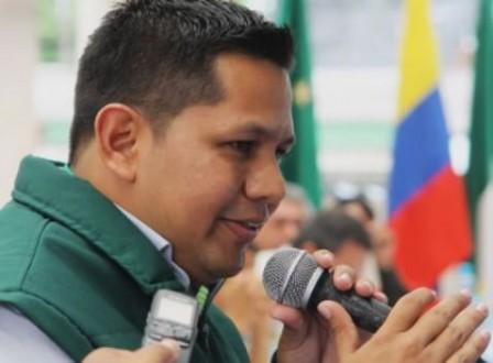 Javier Andrés Rosero Paí, secretario de Gobierno del Putumayo.