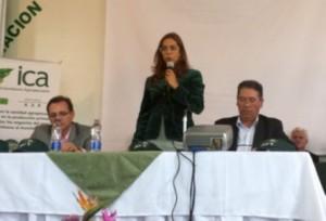 Según Gina Parody, directora de la entidad, AgroSena cuenta con recursos cercanos a los $60 mil millones anuales, Foto: CONtexto Ganadero.