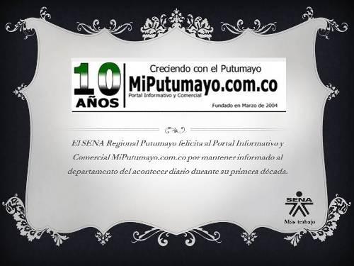 Felicidades MiPutumayo.com.co