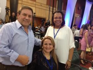 Jimmy Harold Díaz, Sandra Paola Hurtado Palacio y Aury Socorro Guerrero Bowie, gobernadores de Putumayo, Quindío y San Andrés, Providencia respectivamente.