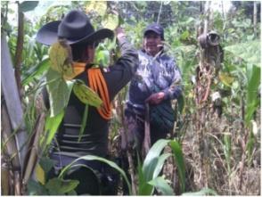 Huertas caseras en Sibundoy