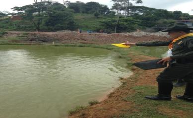 Proyecto piscícola en Puerto Caicedo