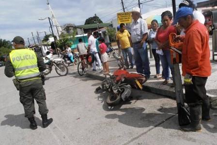 Accidente en Orito, Abuela que salió sin compañía fue la culpable