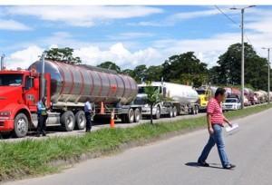 Los municipios del centro y sur del Huila celebraron la noticia de la suspensión del trasporte de crudo en carrotanques.