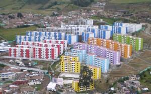rbanizaciones San Sebastián y San Luis en la ciudad de Pasto, hacen parte del programa de vivienda gratuita que desarrolla el Gobierno Nacional en el territorio colombiano. Foto: Edna Sandoval (MVCT)