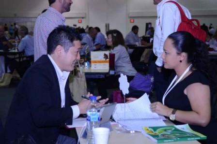 Colombianos buscan mercado en Asia. /Javier Ladino (Proexport)