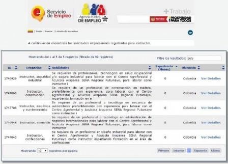Convocatoria instructores Centro Agroforestal y Acuícola ARAPAIMA