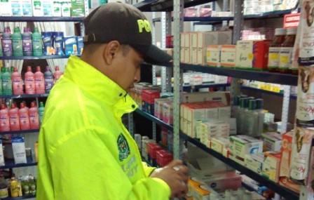 Control de Medicamentos en droguerías de Mocoa