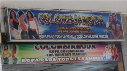 Negocios como Colombia Moda quedo prácticamente vacio.
