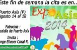 Este fin de semana la cita es en ExpoAsis 2014 – Invita Alcaldía de Puerto Asís