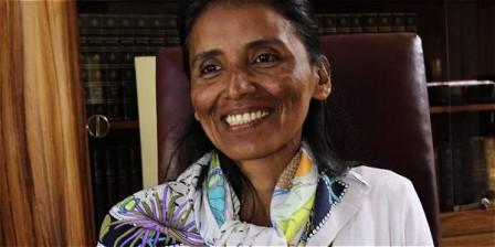 Gloria Stella Nupán, bibliotecaria de Valle del Guamuez, viajará a hacer una pasantía en España, a sus 45 años.