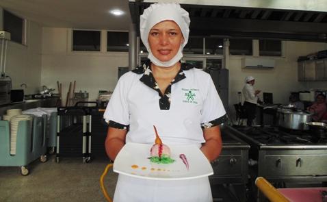 Rosalba Reina Díaz, mostrará sus habilidades para obtener una beca de cuatro meses en Gerona – España, en el restaurante El Celler Can Roca.