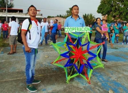 En cometas, el SENA envío mensaje de paz y reconciliación a la comunidad del Putumayo.