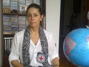 jefe de oficina para el Putumayo del Comité Internacional de la Cruz Roja, María Mercedes Rodríguez Martel.