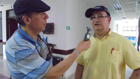 Luis Fernando Correa, director nacional de emergencias y desastres del ministerio de Salud