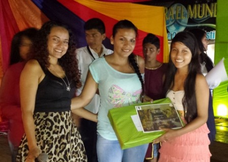 1er puesto una gota de esperanza. Shania Castillo. I.E. Ciudad de Asís