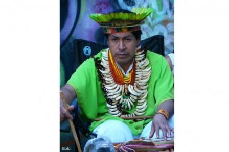 El taita indígena Crispín Chindoy. / Fotos: Archivo particular