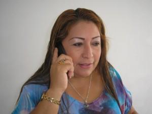 Nelsy Peñafiel Campo, presidenta de ASI Putumayo
