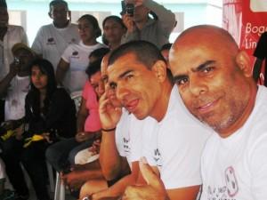 Chicho Serna, Victor Hugo Aristizabal, y Chonto Herrera
