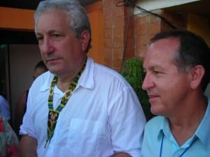 Dan Stopper y Guido Revelo - Octubre de 2006. Puerto Asís Putumayo