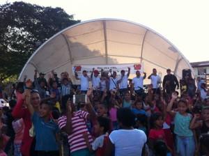 En una sola voz, Puerto Limón y Ejército Nacional clamaron por la paz y la reconciliación