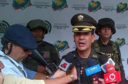 Coronel Ricardo Suarez - Comandante Policía Putumayo