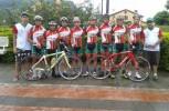 Huilenses ganaron primera etapa de la vuelta al Putumayo